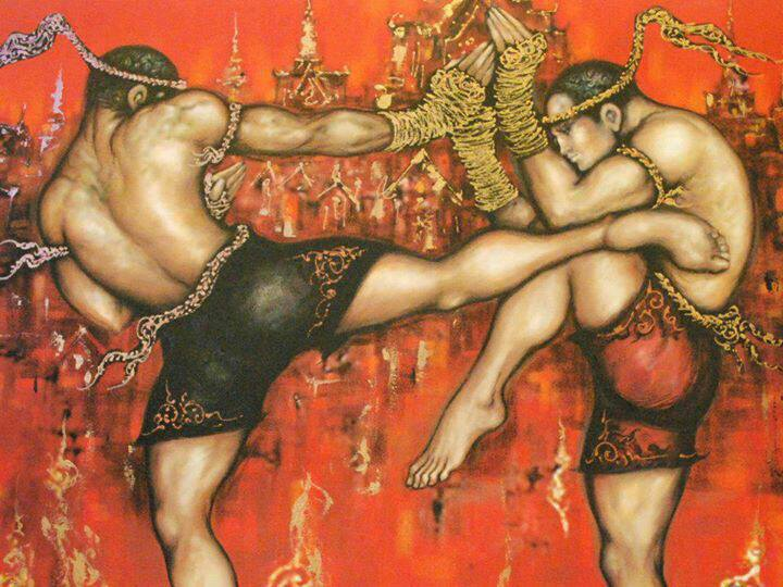 Ancient Muay thai